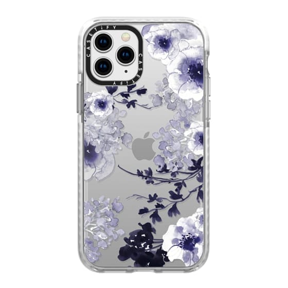 iPhone 11 Pro Cases - BLUE SPRING by Monika Strigel