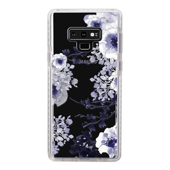 Samsung Galaxy Note 9 Cases - BLUE SPRING by Monika Strigel