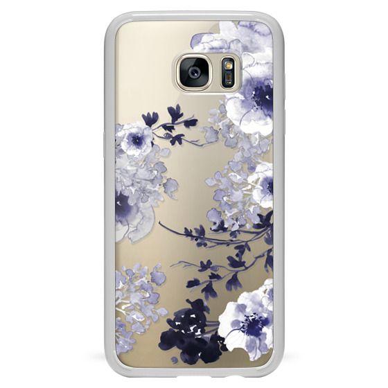 Samsung Galaxy S7 Edge Cases - BLUE SPRING by Monika Strigel