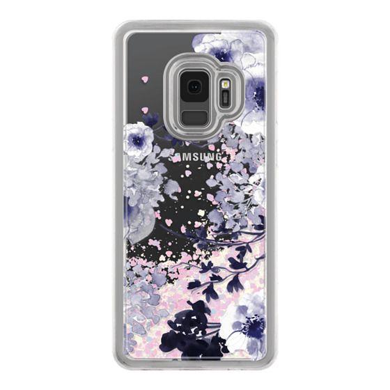 Samsung Galaxy S9 Cases - BLUE SPRING by Monika Strigel