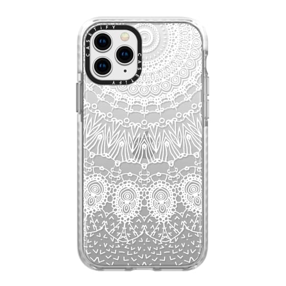 iPhone 11 Pro Cases - WHITE LACE DREAM by Monika Strigel