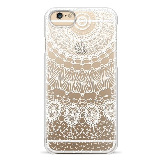 iPhone 6 Cases - WHITE LACE DREAM by Monika Strigel
