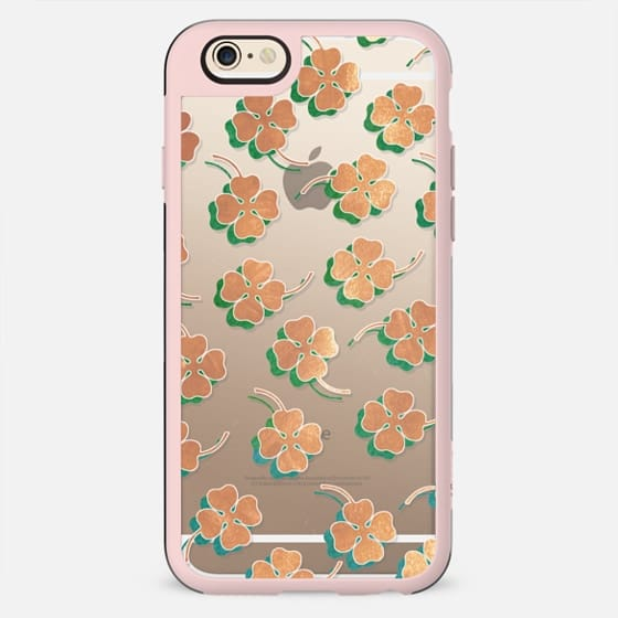 LUCKY CLOVER ROSE by Monika Strigel - New Standard Case