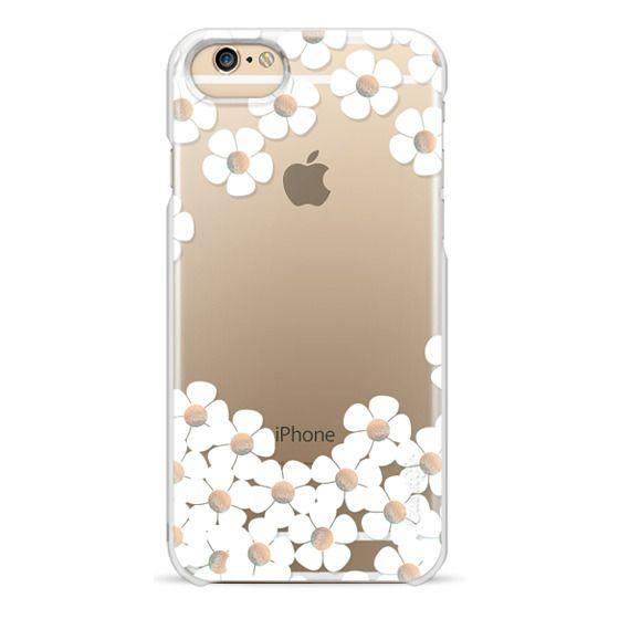 iPhone 6 Cases - GOLD DAISY RAIN iPhone 6 by Monika Strigel