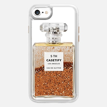 iPhone 7 Case Miss Perfume Glitter iPhone Case