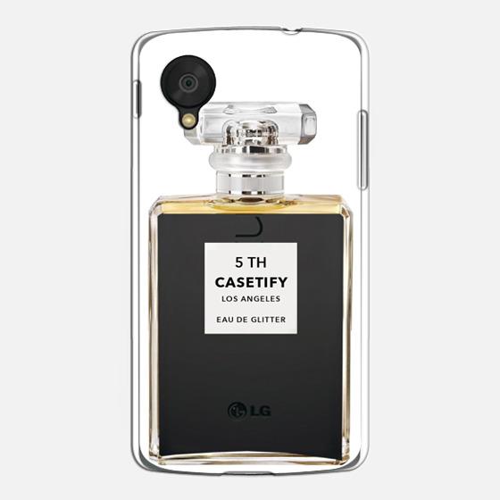 Miss Perfume Glitter iPhone Case