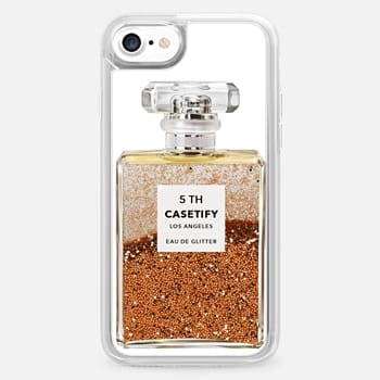 iPhone 7 ケース Miss Perfume Glitter iPhone Case