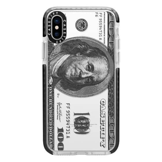 iPhone X Cases - Casetify $100 Bill
