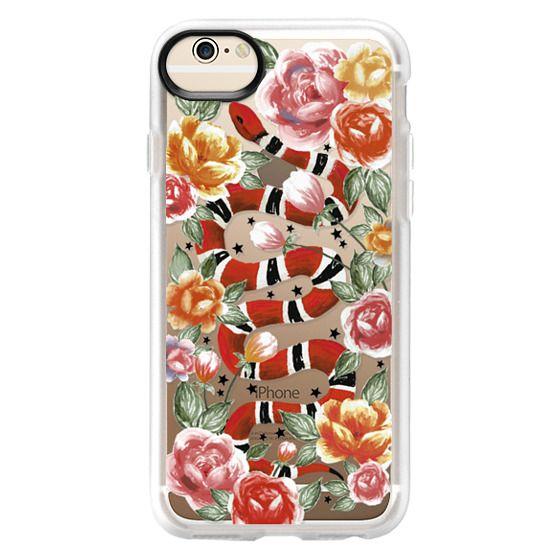iPhone 6 Cases - Botanical Snake