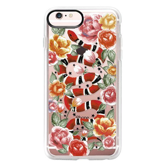 iPhone 6s Plus Cases - Botanical Snake