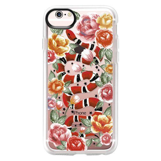 iPhone 6s Cases - Botanical Snake
