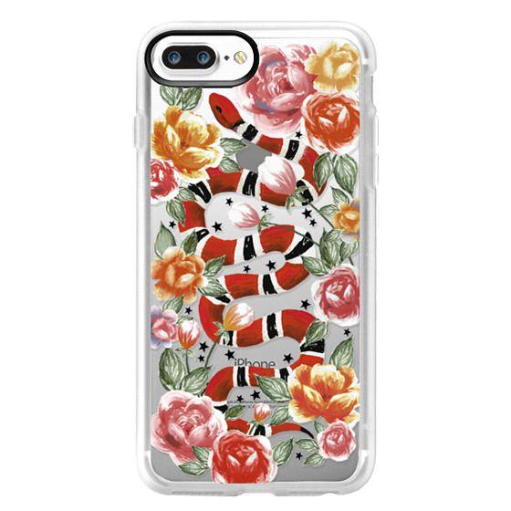 iPhone 7 Plus Cases - Botanical Snake