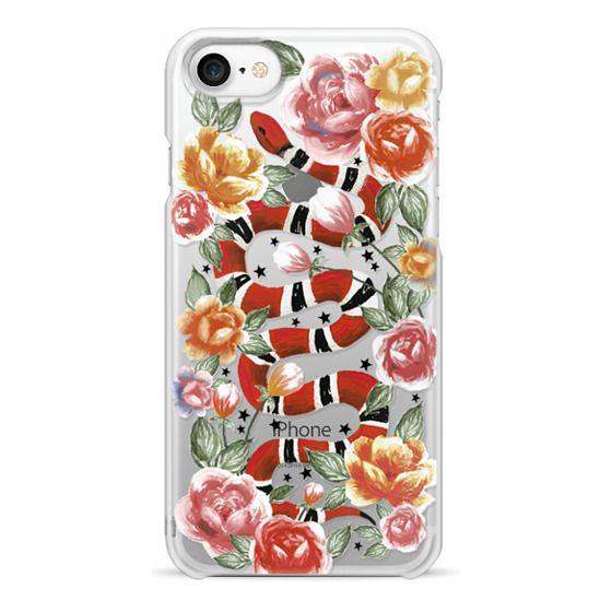 iPhone 7 Cases - Botanical Snake