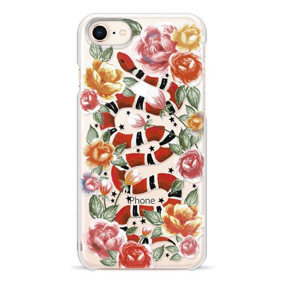 iPhone 8 Cases - Botanical Snake
