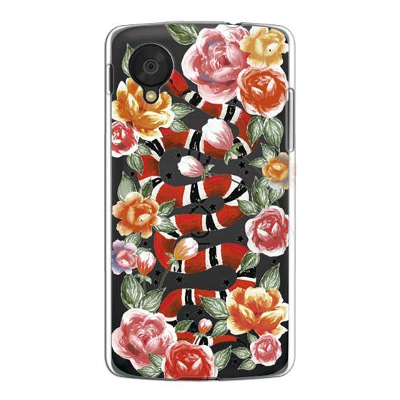 Nexus 5 Cases - Botanical Snake