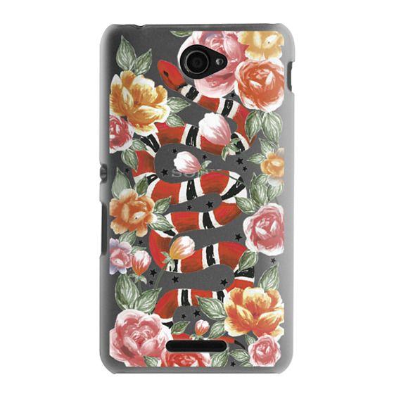 Sony E4 Cases - Botanical Snake