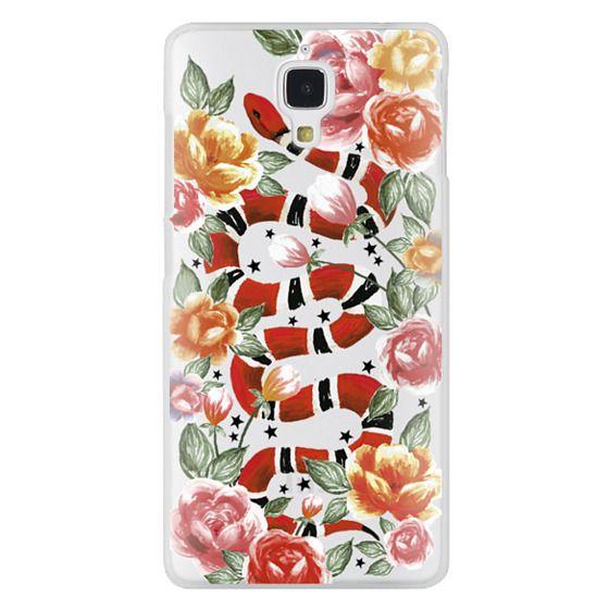 Xiaomi 4 Cases - Botanical Snake