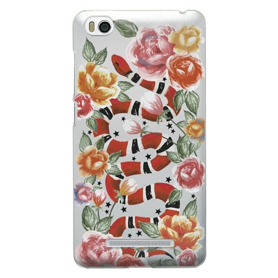 Xiaomi 4i Cases - Botanical Snake