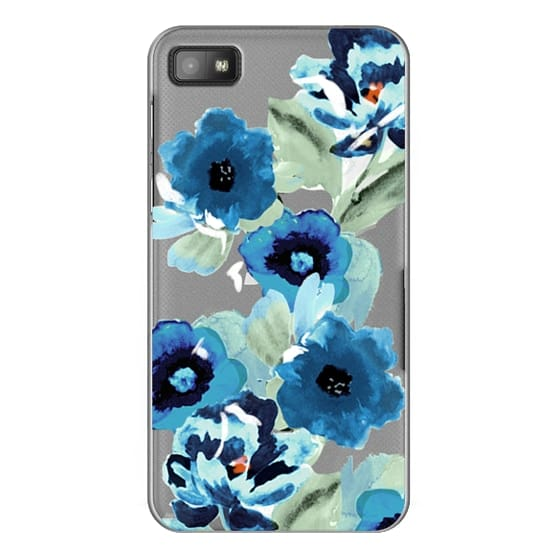Blackberry Z10 Cases - painted graphic floral