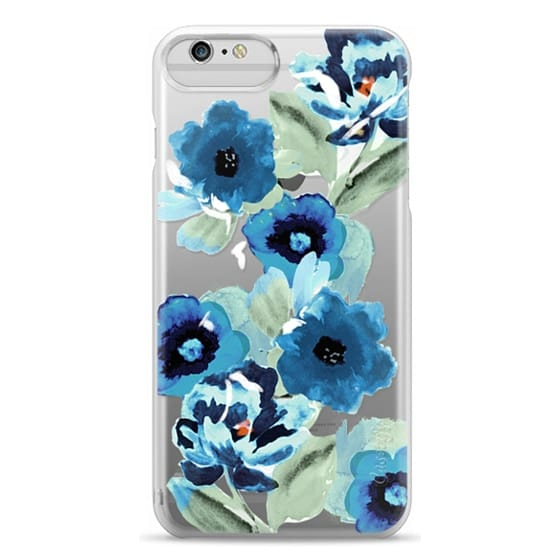 iPhone 6 Plus Cases - painted graphic floral