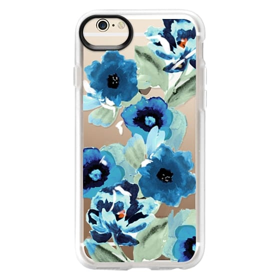 iPhone 6 Cases - painted graphic floral