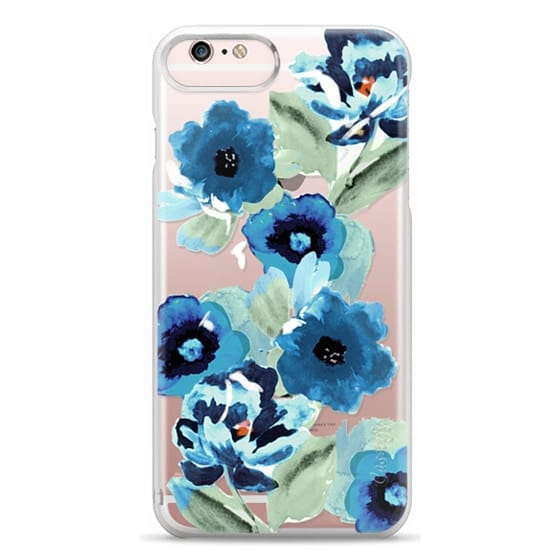 iPhone 6s Plus Cases - painted graphic floral
