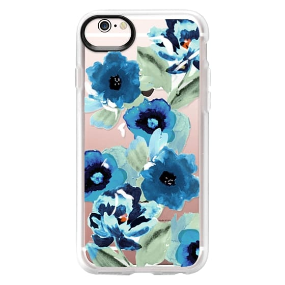 iPhone 6s Cases - painted graphic floral