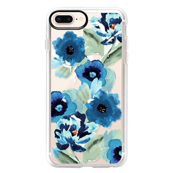 iPhone 8 Plus Cases - painted graphic floral
