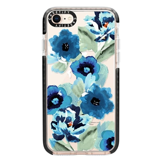iPhone 8 Cases - painted graphic floral