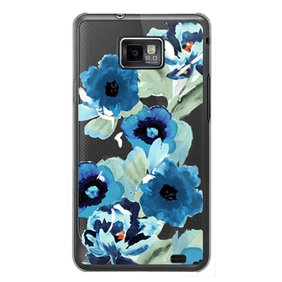 Samsung Galaxy S2 Cases - painted graphic floral