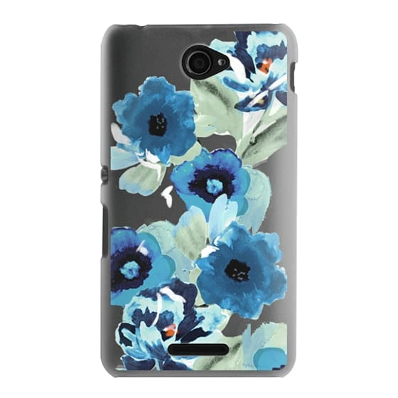 Sony E4 Cases - painted graphic floral