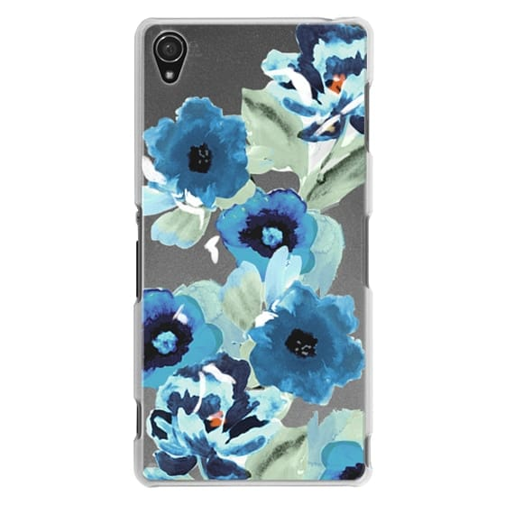 Sony Z3 Cases - painted graphic floral