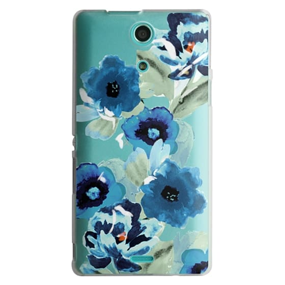 Sony Zr Cases - painted graphic floral