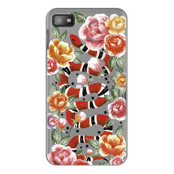Blackberry Z10 Cases - Botanical Snake