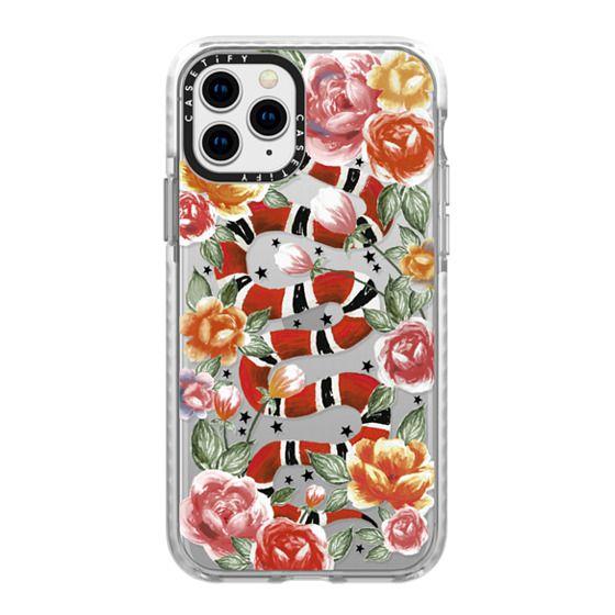 iPhone 11 Pro Cases - Botanical Snake