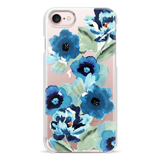 iPhone 7 Cases - painted graphic floral