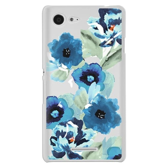 Sony E3 Cases - painted graphic floral