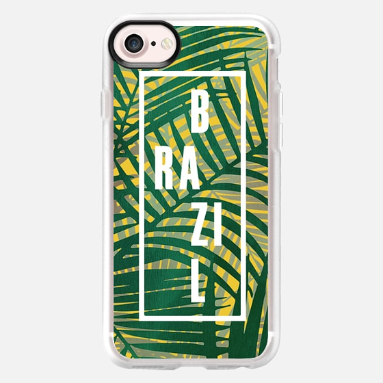 Olympic Graphical Brazil - Wallet Case
