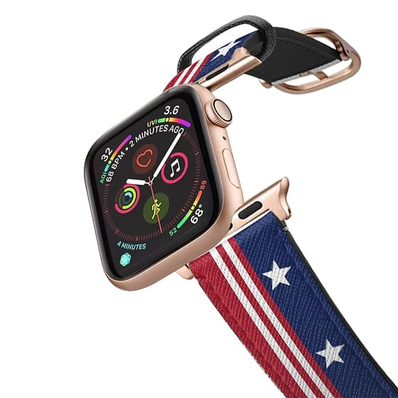 Apple Watch 38mm Bands - Stars and Stripes Flag