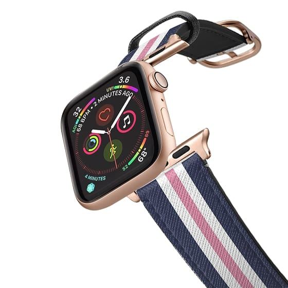 Apple Watch 42mm Bands - Classic Lady (Pink)
