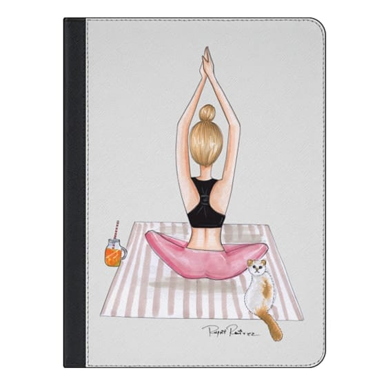 iPad Air 2 Covers - Fitness blonde girl