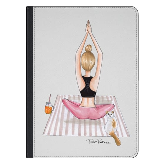 12.9-inch iPad Pro Covers - Fitness blonde girl
