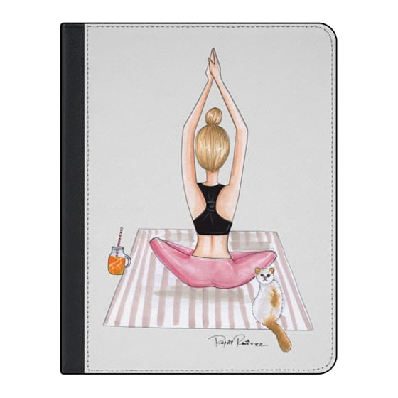11-inch iPad Pro Covers - Fitness blonde girl