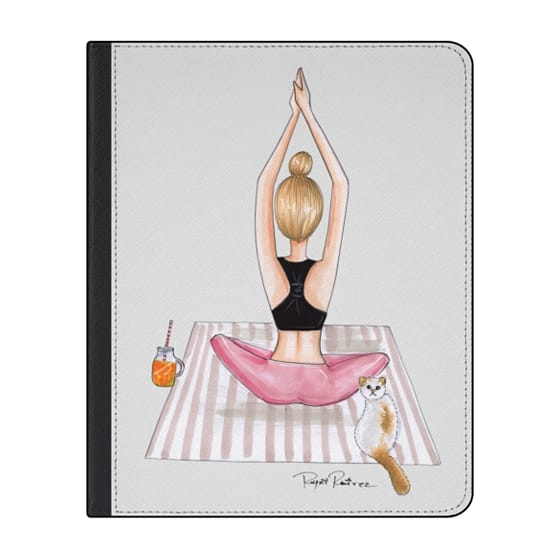 12.9-inch iPad Pro (2018) Covers - Fitness blonde girl