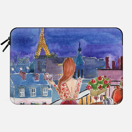 paris, fashion illustration -