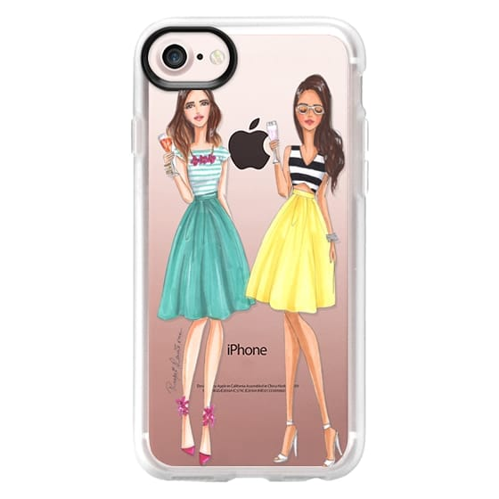 brand new cc8be 3dcd5 Impact iPhone 7 Case - Cheers, friends, fashion illustration
