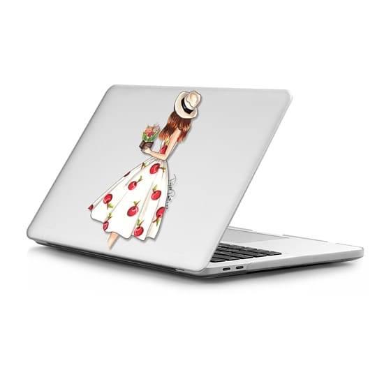 MacBook Pro Touchbar 15 Sleeves - cherry dress