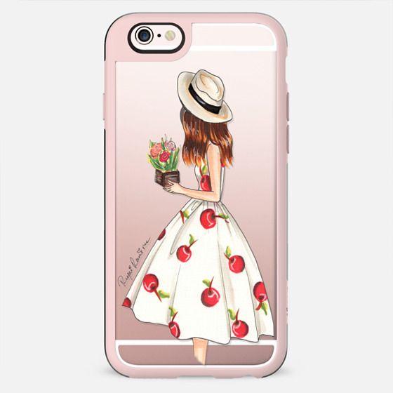 Cherry dress fashion illustration - Funda New Standard