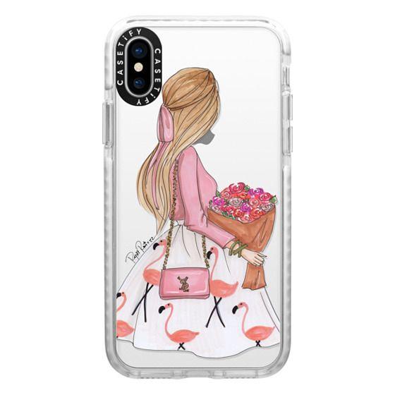 iPhone X Cases - Flamingo