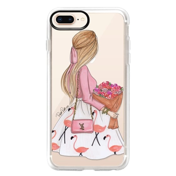 iPhone 8 Plus Cases - Flamingo